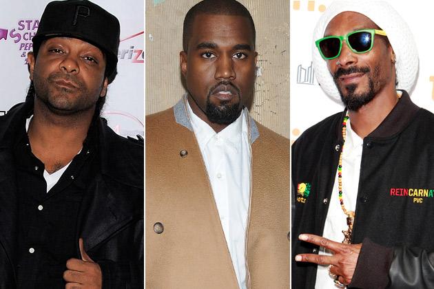 Jim Jones Kanye West Snoop Dogg